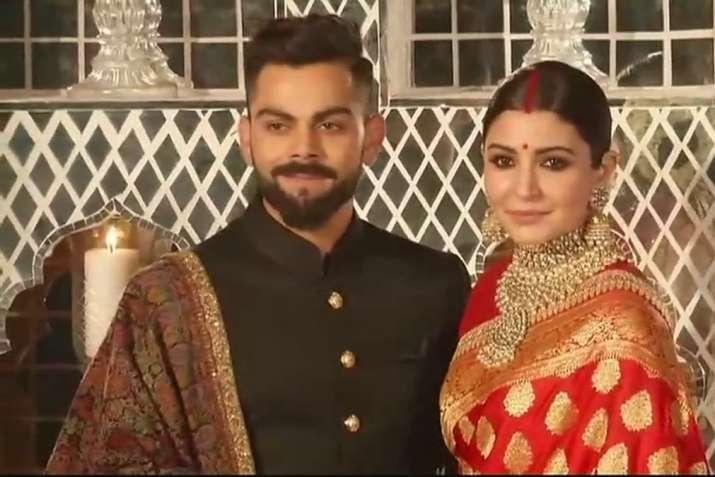 Anushka Sharma Virat Kohli S Wedding Reception Was