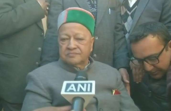 Himachal Pradesh Results 2017: Virbhadra accepts Congress'