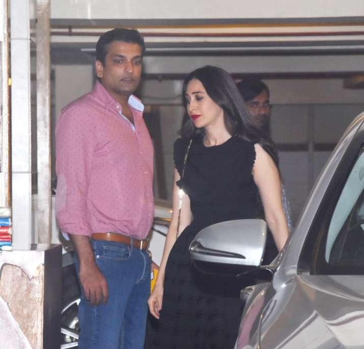 India Tv - Karisma Kapoor and Sandeep Toshniwal