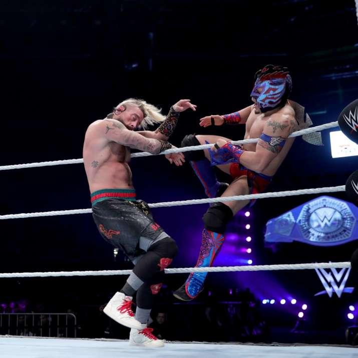 India Tv - Kalisto vs Enzo Amore