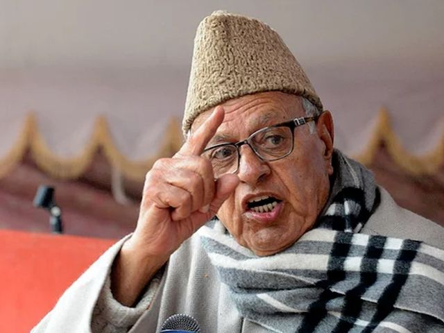 National Conference (NC) leader Farooq Abdullah