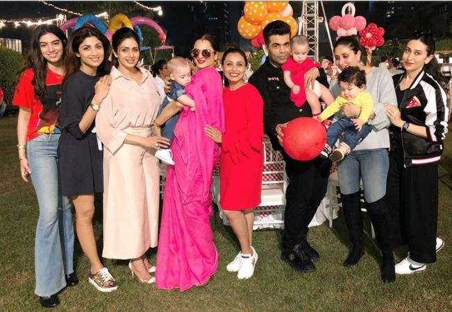 India Tv - Inside picture of Adira's birthday party
