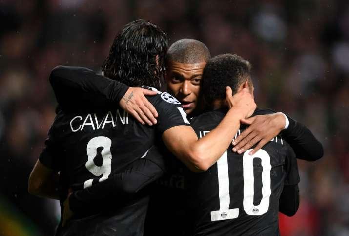 India Tv - Cavani, Mbappe and Neymar.