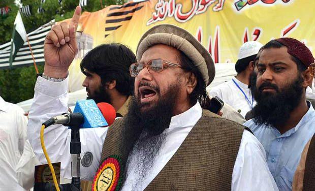 Hafiz Saeed, who has a USD 10 million American bounty on