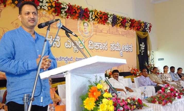 File photo of Union Min Ananth Kumar Hegde