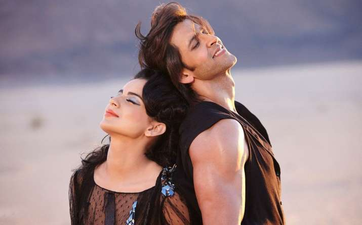India Tv - Kangana Ranaut and Hrithik Roshan in Krrish 3