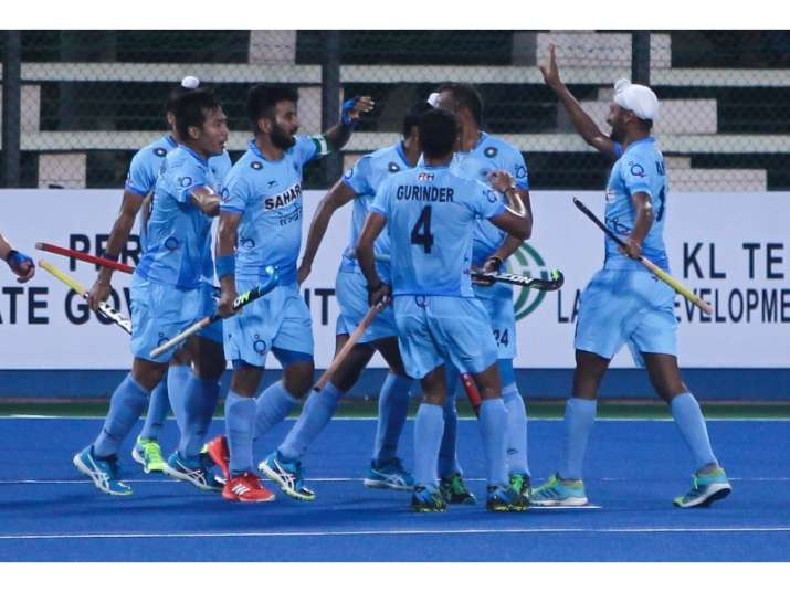 Indian Hockey Players Working On Mental Strength With Neurotracker