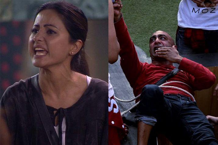 India Tv - Hina Khan and Akash Dadlani