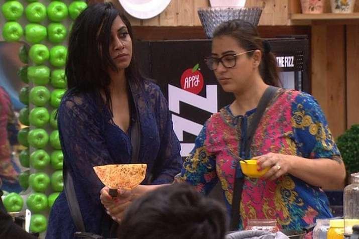 India Tv - Shilpa Shinde and Arshi Khan