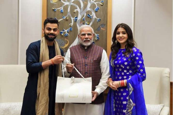 Newly-weds Virat Kohli, Anushka Sharma meet PM Narendra