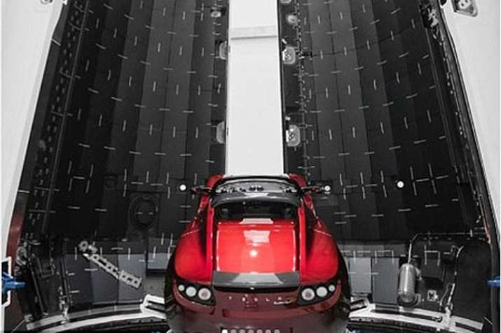 India Tv - Elon Musk all set to send his Tesla Roadster car to Mars; see pics