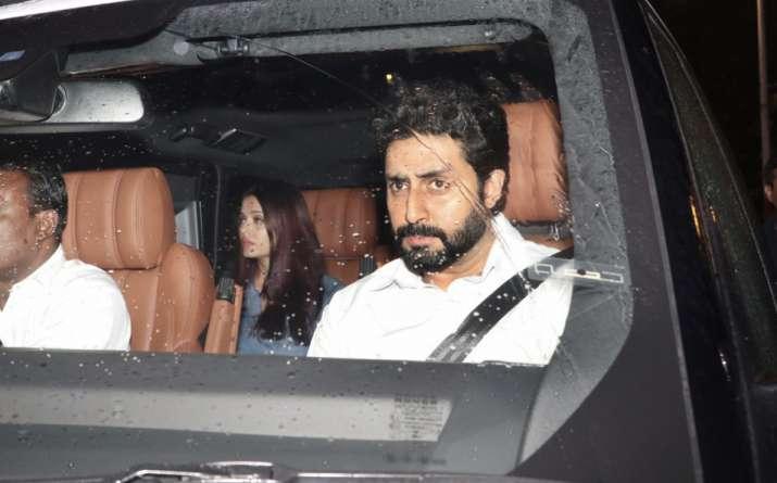 India Tv - Abhishek and Aishwarya Rai Bachchan