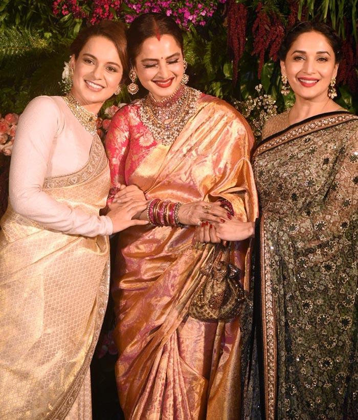 India Tv - kangana at virushka reception