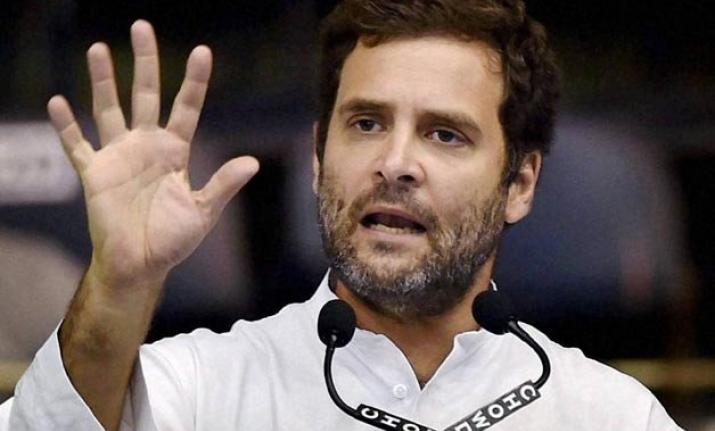 Rahul Gandhi toured the state extensively, and raised the
