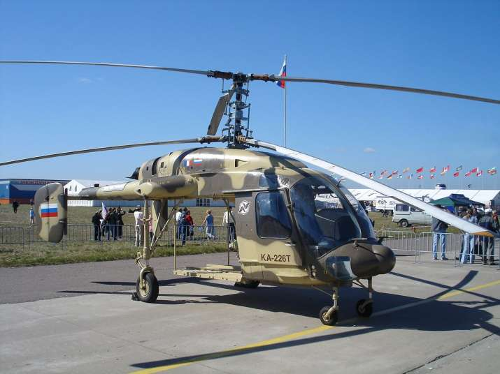 Indian Navy should also try Kamov 226T choppers: Russian