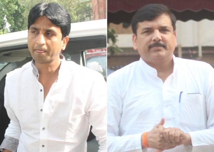 Kumar Vishwas vs Sanjay Singh? AAP appears split over Rajya