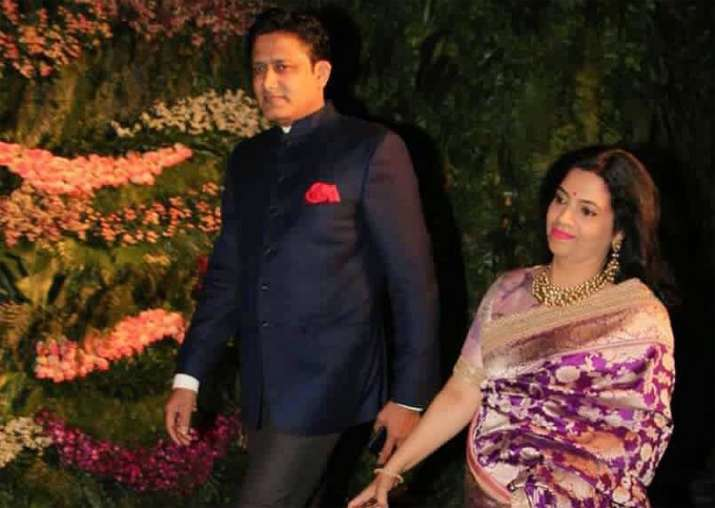 Anil Kumble Attending Virat Kohli Anushka Sharmas Wedding Reception