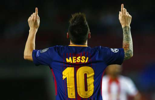 Image Source AP A File Of Lionel Messi