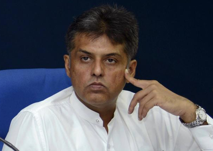 File pic of Congress leader Manish Tewari