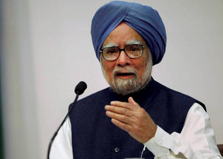 File pic of Manmohan Singh