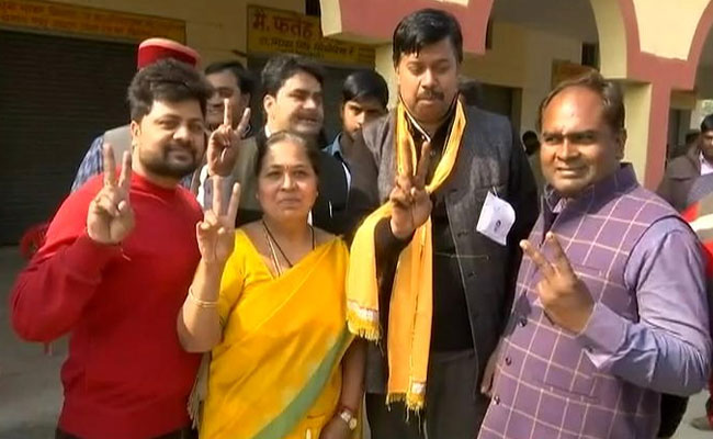 BJP candidate Meera Agarwal was declared winner after a