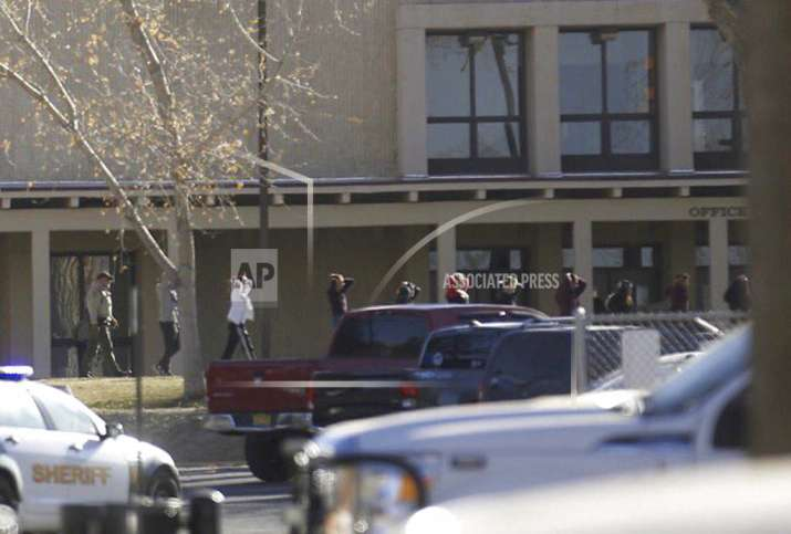 Police responded to the school less than a minute after