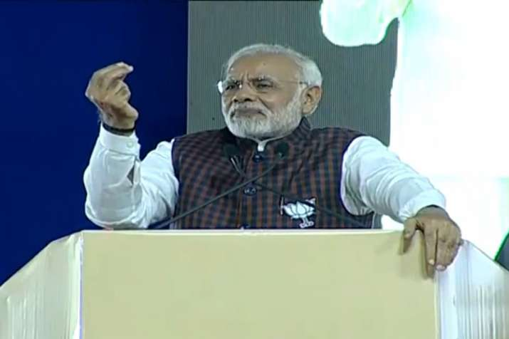 PM Modi in Gujarat LIVE: 'Congress associated with