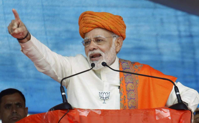 Why does Pak Army ex-DG want Ahmed Patel as Gujarat CM: PM