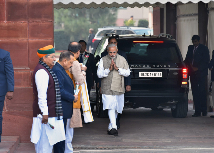 The prime minister hoped the Winter Session of Parliament