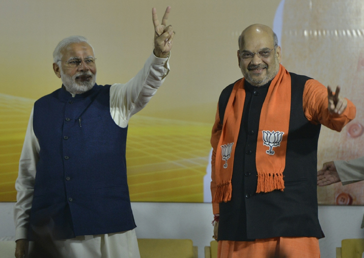 India Tv - PM Narendra Modi and BJP president Amit Shah