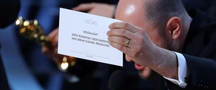 India Tv - Best Picture original envelope at Oscars- Moonlight