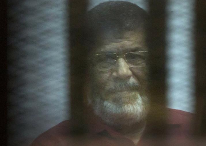 Ex-Egyptian president Mohamed Morsi sentenced to three