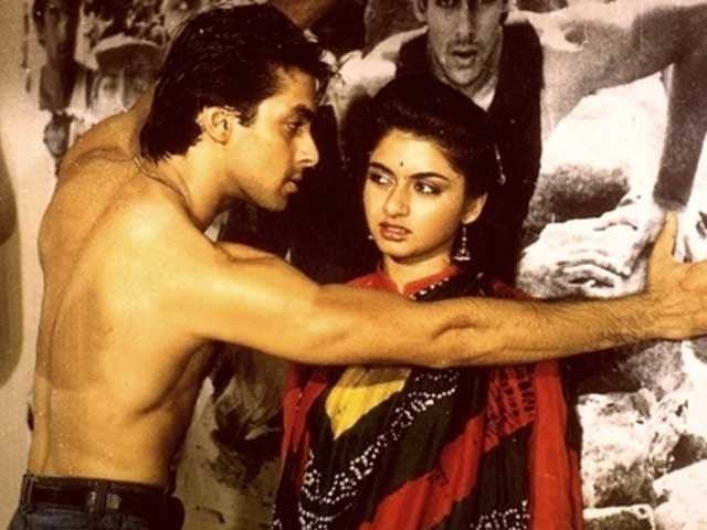 India Tv - Salman and Bhagyashree from MPK