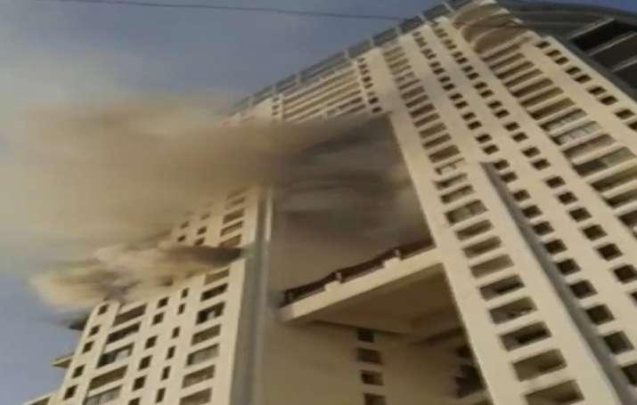 Fire at Mumbai high-rise