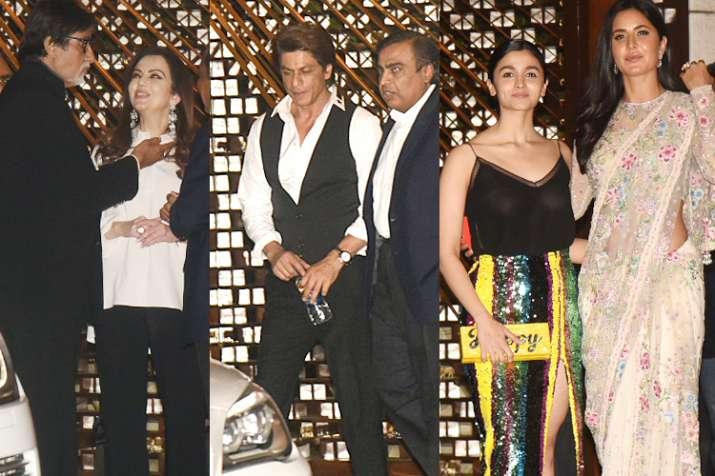Shah Rukh Khan, Amitabh Bachchan, Katrina Kaif, Alia Bhatt,