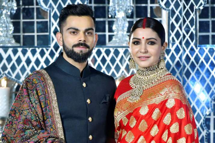 Anushka Sharma Virat Kohli Wedding Reception Sabyasachi