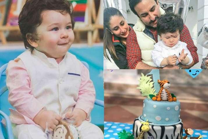 Taimur Ali Khan Birthday Celebration Pics Kareena S Son
