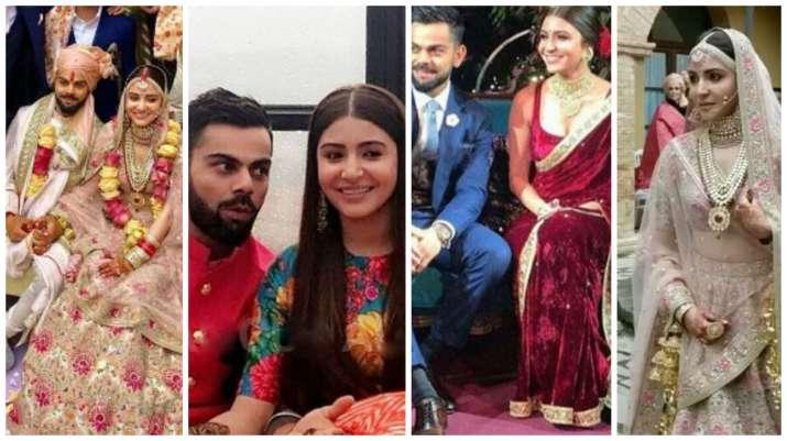 Virushka Italian wedding: All viral Videos and pictures of Anushka Sharma, Virat  Kohli's marriage rituals | Bollywood News – India TV