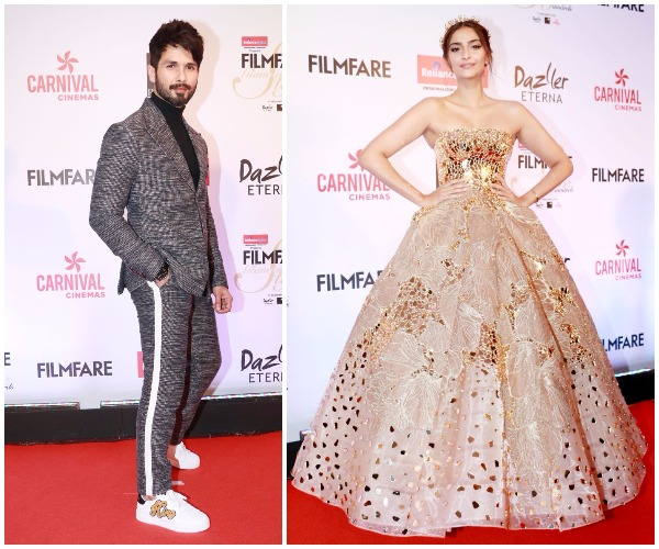 India Tv - Sonam Kapoor and Shahid Kapoor