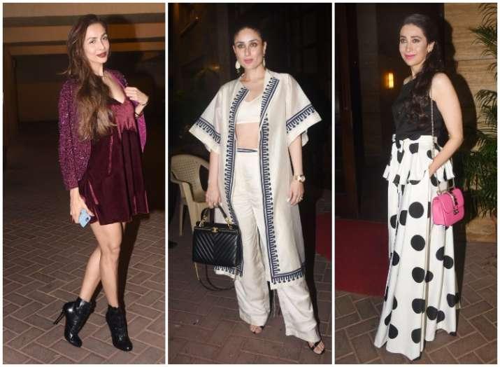 Kareena Kapoor khan Karan Johar Malaika Arora gala time at