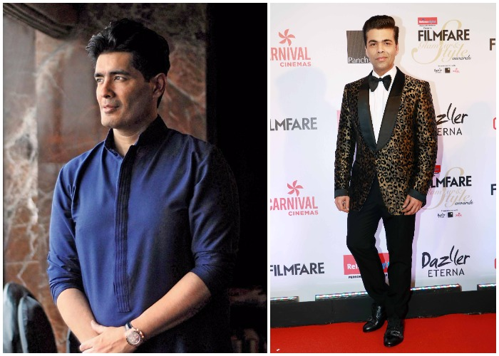 India Tv - Karan Johar and Manish Malhotra