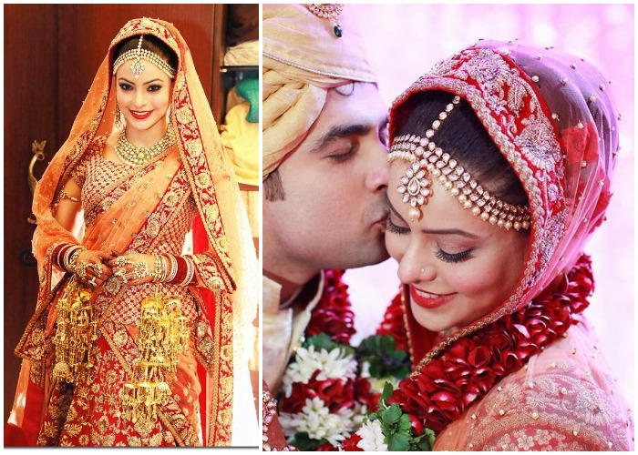 India Tv - Aamna Sharif as a bride