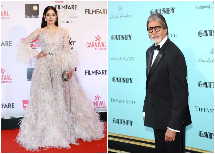 India Tv - Amitabh Bachchan and Sridevi