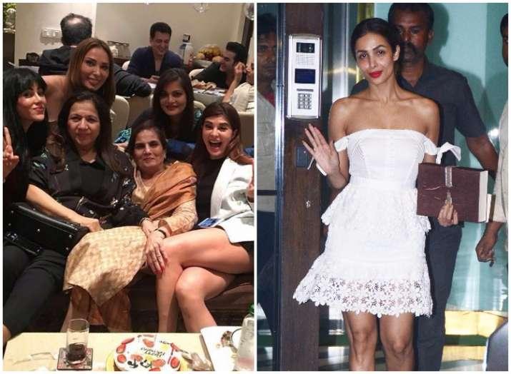 Salman Khan's mother Salma Khan's birthday party