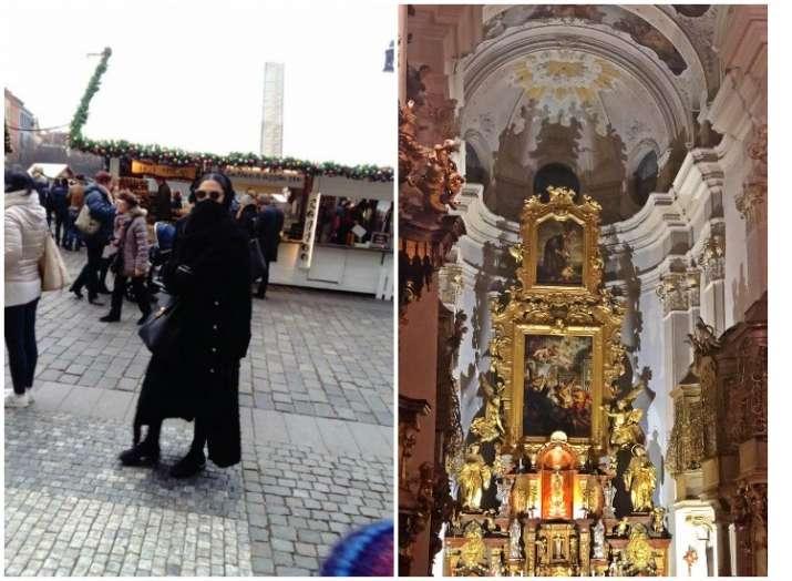 Deepika Padukone celebrates Christmas in Vienna