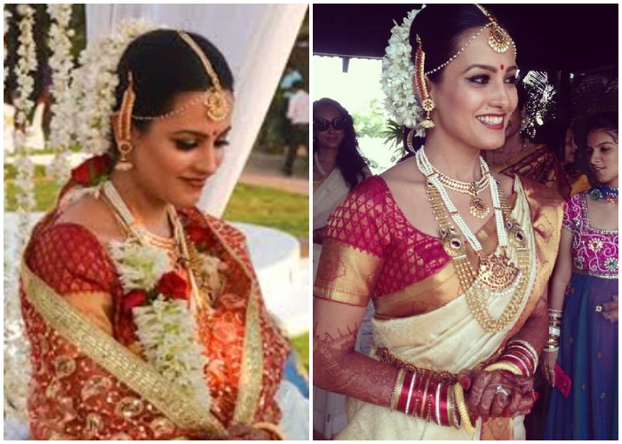 India Tv - Anita Hassanandani on her wedding day