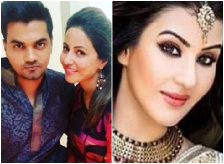Bigg Boss 11 Hina Khan boyfriend Rocky Jaiswal using paid