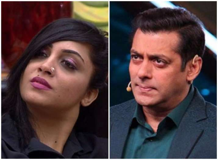 Bigg Boss 11 It is Salman Khan Vs Arshi Khan over Shilpa