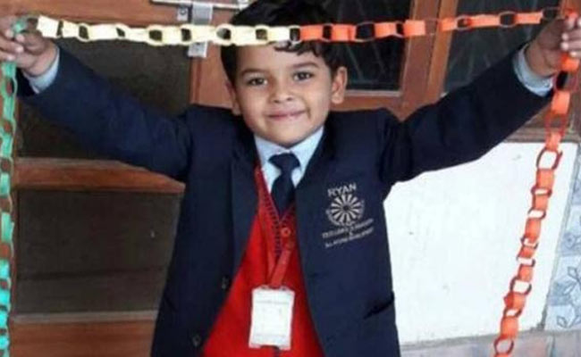 India Tv - Class II student Pradhuman Thaukur was found with his throat slit in his school's washroom in Gurgaon