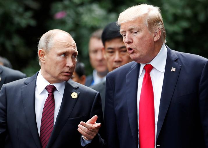 Donald Trump, Vladimir Putin talk on phone, discuss North